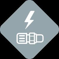Icon Elektrisch Leitfähig