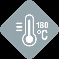Icon Hochtemperaturgeeignet
