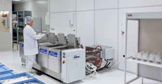 Particle-free wafer cleaning