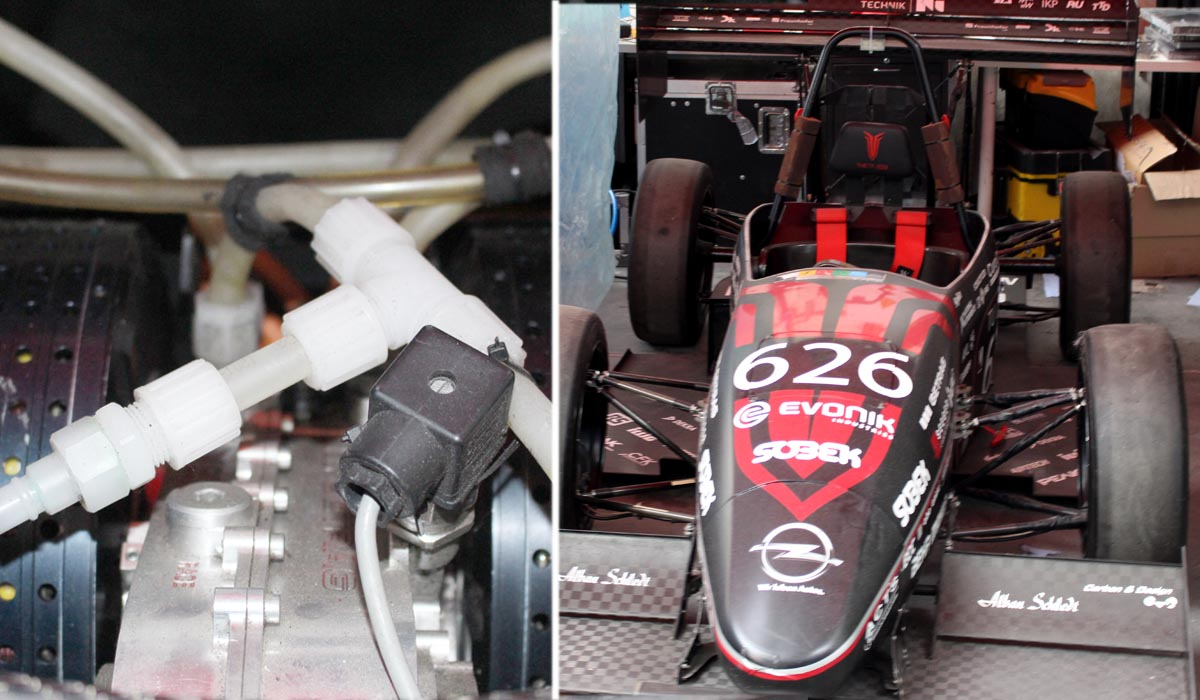 Formula Students Germany – I raccordi emtechnik installati nei prototipi di veicoli da corsa