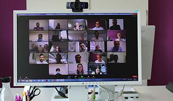 Digitale Zusammenkunft aller Länder