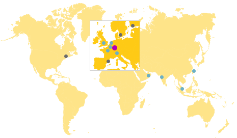 Locations - on site worldwide